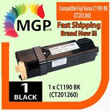 1 Black TONER CARTRIDGE FOR FUJI XEROX Docuprint C1190 C1190FS FS 1190 Printer
