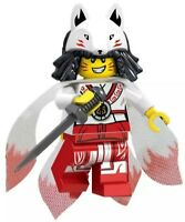 Ninjago Akita Fox Ninja Golden Dragon Spinjitzu Master Custom Brick Mini Figure