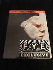 Halloween Steelbook (Blu-ray Disc, 1978, Exclusive Limited Edition FYE) Sealed!
