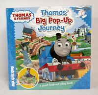 NEW Thomas & Friends Thomas' Big Pop-Up Journey Hardcover Fold Out Play Book