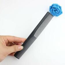 Hair Comb Mens Women Pocket Salon Barber Hairdresser New!~ Black 1pcs Combs D1K2
