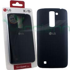 Custodia CSV-150 originale LG Slim Guard Case per K7 / Q7 cover Nera nuova Black