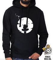 Uchiha Itachi hoodie Sharingan Naruto Akatsuki Anime jumper Unisex Adult Kids