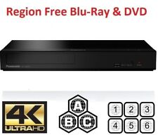 Panasonic UB159 Multi Region 4K Blu-ray Player All Zones Code Free A B C
