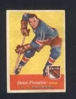 1957-58 Topps #62 Dean Prentice EXMT/EXMT+ NY Rangers 108348