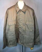 NWT Rothco Vintage Vietnam Military Fatigue Shirt Tan Free US Shipping (R56)