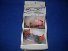 Miniature: single bed kit by Daisy House - 1:12 scale, NIB, DAS015