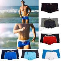 New Hot Sexy Cool Men's Swimwear  Boxers Swimming Trunks Swim Shorts Beach Pants