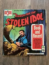 New ListingVintage Vinyl 1973 Gi Joe Search For The Stolen Idol Book and Record Peter Pan
