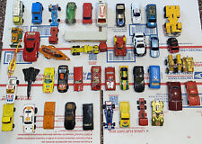 60's 70's 80's Toy Car Lot Of 45 Lesney Road Champ Other Rare Vintage Die Cast
