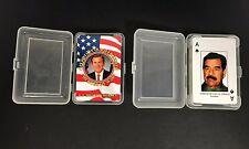 Operation Iraqi Freedom Heroes of War & Iraqi Most Wanted Playing Card Decks