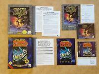 STAR WARS REBEL ASSAULT 1 + 2   PC DOS   USK 16 #