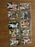 10 Card Lot: 2020 Topps Series 1 GOLD Parallel Lot, Short Print SP NO DUPES (#8)