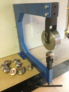 ENGLISH WHEEL WITH ANVILS ROLLERS WHEELING METAL WORKING MACHINE