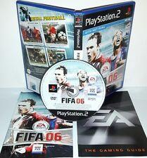 FIFA FOOTBALL 2006 06 - Playstation 2 Ps2 Play Station Gioco Game Sony