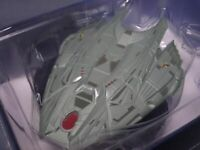 Star Trek Klingon Transport Ship Starships Collection Display Mini Box Vol 72