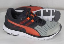 Puma men's poseidon V2 running shoes gray orange size 8