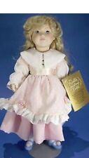 Vintage 1984 Franklin Heirloom Bisque Collector Doll