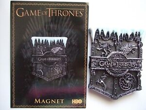 "Game of Thrones New ""Ice Signet Fridge Magnet"" 8cm Nemesis"