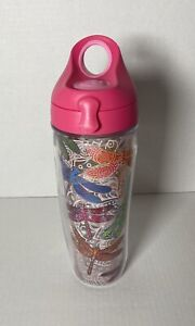 Tervis Dragonfly Mandala Wrap Water Bottle Cup Tumbler With Lid