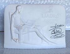 Lladro Collectors Society Signed Plaque Daisa 1985