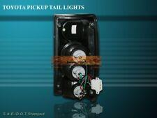 1989 - 1995 TOYOTA PICKUP TRUCK BLACK TAIL LIGHT 90 91 92 93 94