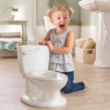 Summer Infant My Size Potty Toilet Training Seat Flush Sound Baby Toddler -White