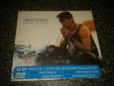 David Demaria : Barcos De Papel CD AND DVD (2007) *RARE* NEW!