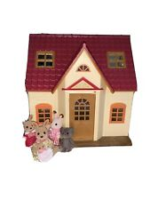 Sylvanian Families House Comes With Furniture,people(also Comes With Gelato Shop