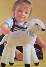 Easter Lamb Toy Knitting Pattern