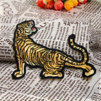 DIY Tiger Embroidered Sew On Iron On Patch Clothes Badge Applique Craft Transfer