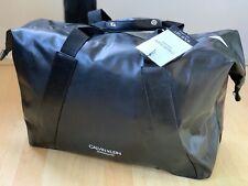 🆕CALVIN KLEIN MENS BLACK Bag HOLDALL DUFFLE GYM WEEKEND Cabin Bag Brand New