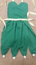 Dress up apron. Disney inspired childs apron. Playtime.b'day.Tinkerbell.Handmade