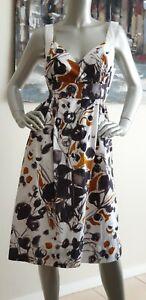 SUSSAN women's Summer Floral Cotton A- line Dress. Size 12