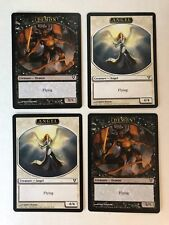 MTG -  4x Angel / Demon Double-sided Tokens  - AVN Helvault Promo Cards