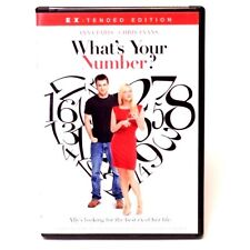 What's Your Number? (DVD, 2012 Canadian) Anna Faris WORLD SHIP AVAIL!