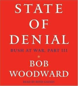 State of Denial Pt. 3 : Bush at War by Bob Woodward (2006, CD, Abridged) 17
