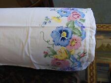 Floral Border Handmade Chair Arm Covers