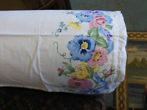 Floral Border Handmade Chair Arm Covers