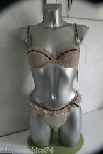 ensemble luxe dentell NAUGHTY JANET REGER string tanga 40 à 44 SG 90C val 450€