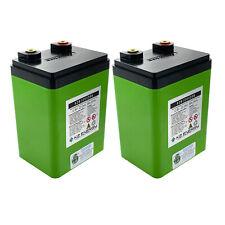 2pc K2 Energy 12V 22Ah K2B12V22EB Lithium Iron Phosphate Battery with BMS