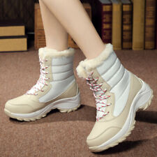 Outdoor Climbing Breathable Slip Resistant High Heel Winter Snow Boots Womens