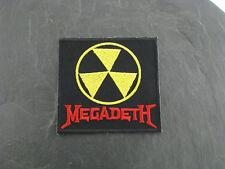 Patches Aufbügler Aufnäher Megadeth Rock'N'Roll Hard Rock Heavy thrash Metal