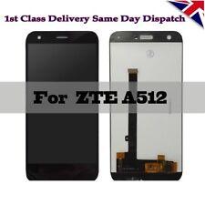 para ZTE Hoja A512 COMPLETO LCD Pantalla CON DIGITALIZADOR de táctil negro