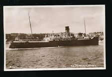 Channel Islands Shipping GWR SS St Helier 1953 RP PPC served Dunkirk