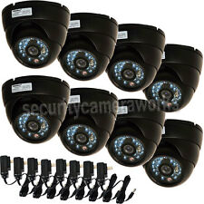 8x Outdoor Indoor CCD Security Camera Infrared Day Night Wide Angle 480TVL B4X