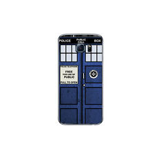 707 Skins BACK ONLY Wrap For SAMSUNG S7 EDGE Cover Decal Sticker - TARDIS