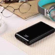 Dual USB Banco de Alimentación 6x 18650 Cargador De Batería Externa de Respaldo Estuche Para Teléfono
