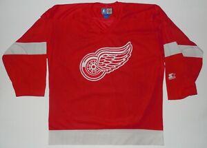 Detroit Red Wings Hockey Starter Jersey Size L NHL