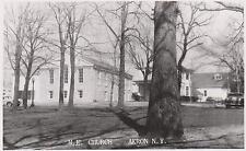 RPPC,Akron,New York,Methodist Episcopal Church,Erie County,c.1950s